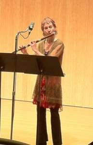 "Solo Program ""Descent"" - March 2013 performing Sonus Sonorous (baroque flute & electronic media)"